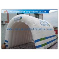 Wholesale Customizable White Inflatable Portable Spray Booth Tent Quadruple Sewing With Printing from china suppliers