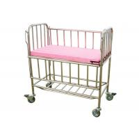 Wholesale CE ISO Approved Stainless Steel Hospital Baby Beds With Mattress (ALS-BB06) from china suppliers