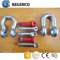 Buy cheap Galvanized Screw Pin US Type Steel Drop Forged D Shackle from wholesalers