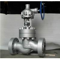 Wholesale API 6D CS Flanged Globe Valve , Gear Operated Globe Valve Class 2500 from china suppliers