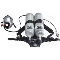 Quality Double Cylinder Positive Air Breathing Apparatus / SCBA / air respirator for sale