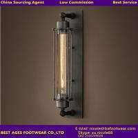 Wholesale High Quality New Design home interior decorator iron wall lighting from china suppliers