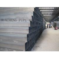 Quality 20# Q195 Q235 Carbon Steel Rectangular Tubing , Cold Drawing Thin Wall Steel Pipe for sale