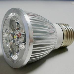 Quality GU10 LED spotlight E27 height 55-60mm Aluminum housing 4W for sale