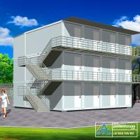 Wholesale Economic 20 FT Container Home , simple container homes for storage from china suppliers