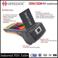Wholesale C# Code Android Programmable Card Reader Handheld PDA ID Card Scanner from china suppliers