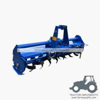 Wholesale Tractor mounted Rotary Tiller gear driven TMZ model from china suppliers