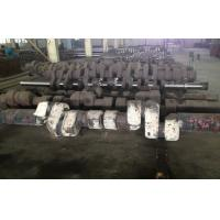 Wholesale ASTM 34CrNiMo6 Alloy Steel Forged Shafts Crankshaft Forging For Low Speed Diesel Engine from china suppliers
