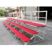 Wholesale Red Mobile Aluminum Stage Risers Non Slip For Performing Easy Installed from china suppliers