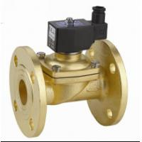 Wholesale Two Way Flange Electric Solenoid Water Valve , Small Solenoid Valves For Water from china suppliers