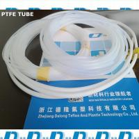 Wholesale nature white soft ptfe extrusion tube 6mm*8mm from china suppliers