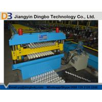 Wholesale Roof Tile Corrugated Roll Forming Machine with Comuter Control System for Shelving , HVAC from china suppliers