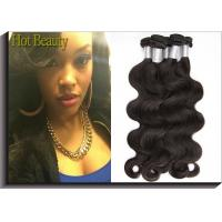 Wholesale Black Peruvian Virgin Remy Human Hair Extensions Body Wave Type from china suppliers