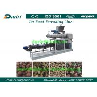 Wholesale Meat , Beans , Vegetable pet chewing food extrusion machine with Twin - screw from china suppliers