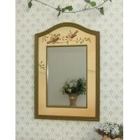 Wholesale Decorative bird bathroom wooden wall Mirror from china suppliers