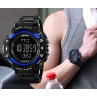 Wholesale New Men Multifunction 3D Pedometer Heart Rate 5ATM Waterproof Chrono Alarm Sport Watches 1180 from china suppliers