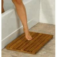 Wholesale Teak Shower Bamboo Mat from china suppliers