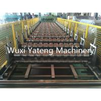 Wholesale Q235 Steel Roof Tile Roll Forming Machine , Roof Tile Making Machine 1220 / 1250mm Feeding Width from china suppliers