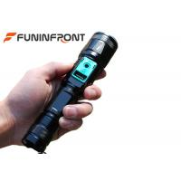Wholesale Direct Charge Zoom LED Flashlight with Power Bank Function, Outdoor T6 LED Torch from china suppliers