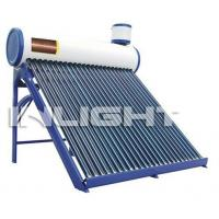 Wholesale Integrated Pressure Copper Coil Solar Water Heater Color Steel Type For Home / Hotel from china suppliers