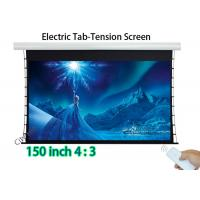 Wholesale Low Noise Projection Tab - Tension Screen 120x90 Inch Viewable Tubular Motor from china suppliers