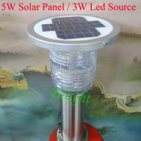 Wholesale 5W Panel 3W Led Source High Brightness Solar Garden Light Lawn (DL-SLS004) from china suppliers