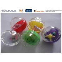 Wholesale Colorful egg type Small Plastic Capsules , Custom Plastic Toys for Children from china suppliers