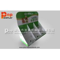 Wholesale OEM ODM Green Corrugated Counter Display Cardboard For Dog Food from china suppliers