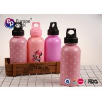 Buy cheap Cylindrical PS Personalized Plastic Water Bottles For Kids Heat Tranfer Printing from wholesalers