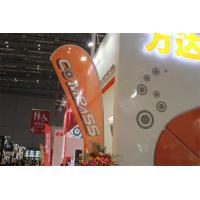 Wholesale Interior / Outdoor Teardrop Banners 3kg Cross Feet With 360 Degree Turning Radius from china suppliers