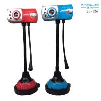 Wholesale cheap webcam HD camera with 3 night-version light webcam/ pc webcam freedrive with MIC from china suppliers