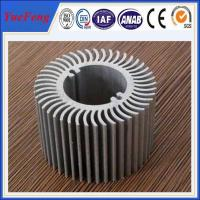 Wholesale Aluminum round heat sink extrusion, Custom made round clear anodized aluminum heatsink from china suppliers