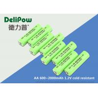 Customized Capacity AA Low Temperature Rechargeable Batteries 1.2V