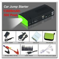 Wholesale Rechargeable 12V 136000Mah Diesel Jump Starter 250A - 500A With LED Light from china suppliers