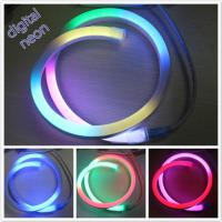 Wholesale Flexible digital led neon light 14*26mm 24v chasing RGB neon lights from china suppliers