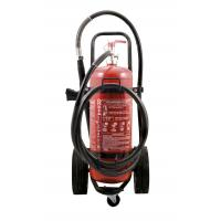 Wholesale Durable 50kg 40% Powder Trolley Fire Extinguisher Odorless For Computer Room from china suppliers