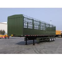 Wholesale tri axle semi trailer air bag suspension fence trailer for sale from china suppliers