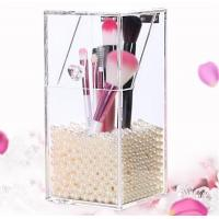 Wholesale New clear acrylic makeup organizer storage box from china suppliers