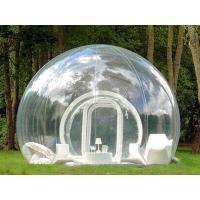 Wholesale Clear Inflatable Bubble Tent with One Tunnel from china suppliers