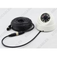 Quality Camera Cable 15M 4P Aviation Grade Vehicle Rear Vision Male To Female for sale