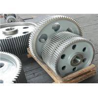 Wholesale Casting Steel Straight Tooth Gears Spur Precision Machining Contrate Gears from china suppliers