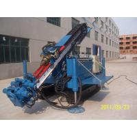 Wholesale Air Anchor Drilling Rig Full Hydraulic Water Drilling Machine For Soil Sand Stratums from china suppliers