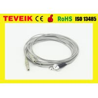 Buy cheap DIN1.5 Socket 1m OEM Medical Cable With Silver Chloride Plated Silver Electrodes from wholesalers