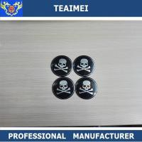 Wholesale Aluminum 64mm Wheel Center Cap Stickers With 3m Adehasive Tape On Back from china suppliers