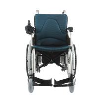 Quality 24V 20Ah Lithium Battery Battery Powered Wheelchair / Folding Power Wheelchair for sale