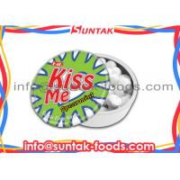 Wholesale Cooling Low Calorie Candy With Low Sugar Promotion Gift Confectionery In Click Clack Tin Box from china suppliers