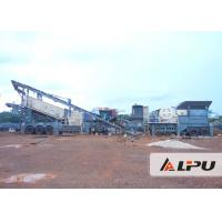 Wholesale Multi - Purpose Combined Mobile Crushing Plant / Mining Crusher Equipment from china suppliers