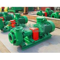 Wholesale Petroleum drilling fluid centrifugal sand pump with 30m3/h to 320m3/h, supply pump to desander, desilter, and centrifuge from china suppliers