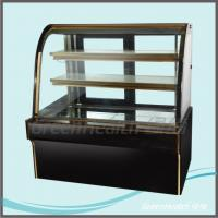 Wholesale Commercial Flat Top Cake Display Freezer force air cooling hole from china suppliers
