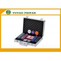 Quality Travel Promotional 200 pcs 4G Poker Chips Sets With Aluminum Case for sale